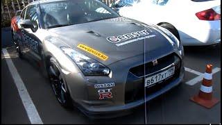 Nissan GT-R.Тест-драйв.  Краткий Обзор