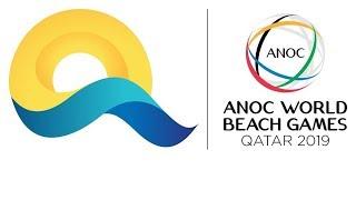 Live ~ Beach Volleyball 4x4 -  World Beach Games Qatar - Al gharafa Beach Volleyball Arena 2019
