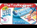 Crayola Magic Light Brush Color Wonder Mess Free Coloring Unboxing Toy Review by TheToyReviewer