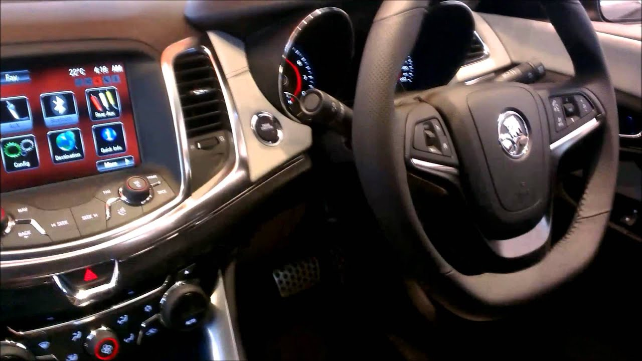 Holden vf commodore ss v hd interior review by facebook holden vf commodore ss v hd interior review by facebookholdenisaustralian youtube vanachro Choice Image