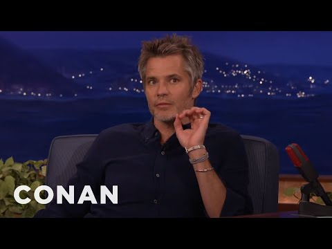 Timothy Olyphant's Secret For Being Happy No Matter Where You Are   CONAN on TBS