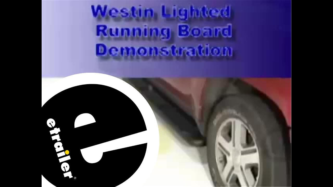 Westin molded lighted step board review etrailer youtube westin molded lighted step board review etrailer aloadofball Images