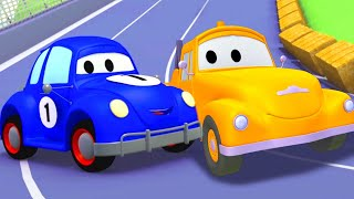 Tow Truck for kids -  Henry the Old Herbie - Tom The Tow Truck in Car City