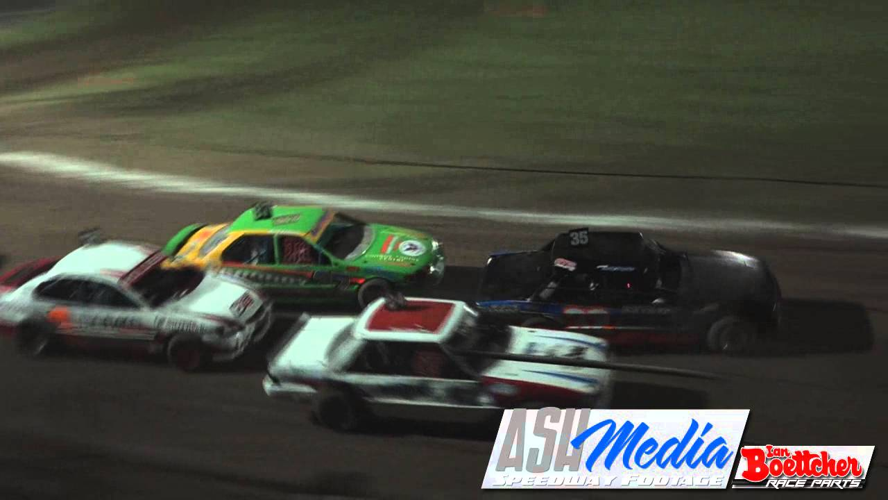 Modified Sedans Gerry Flood Crash Lismore Speedway Youtube