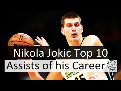 Nikola Jokic Top 10 Assists of his Career