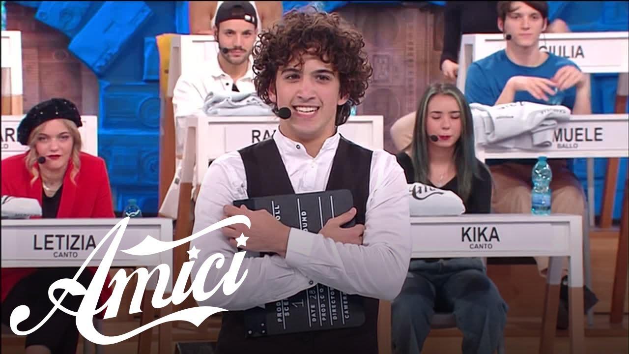Amici 20 - Riccardo - Sing sing sing