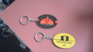 sublimation KEY RING PRINTING heat press machine