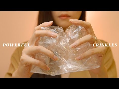 ASMR Powerful Crinkles to Make You Tingle (No Talking)