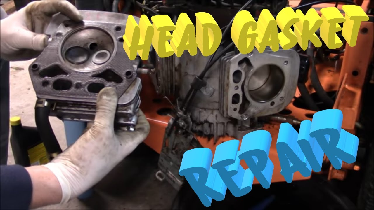 Replacing The Head Gaskets On A 19hp Kawasaki Engine Youtube Fd620 Wiring Diagram
