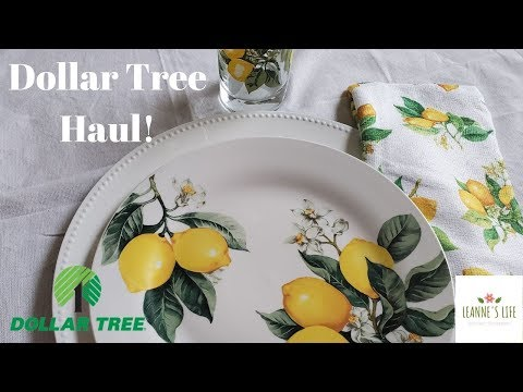 Dollar Tree Haul | NEW Items | June 2019 | Leanne's Life