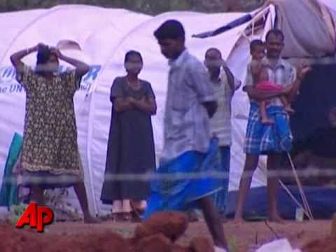 UN Chief Tours Sri Lanka War Devastation