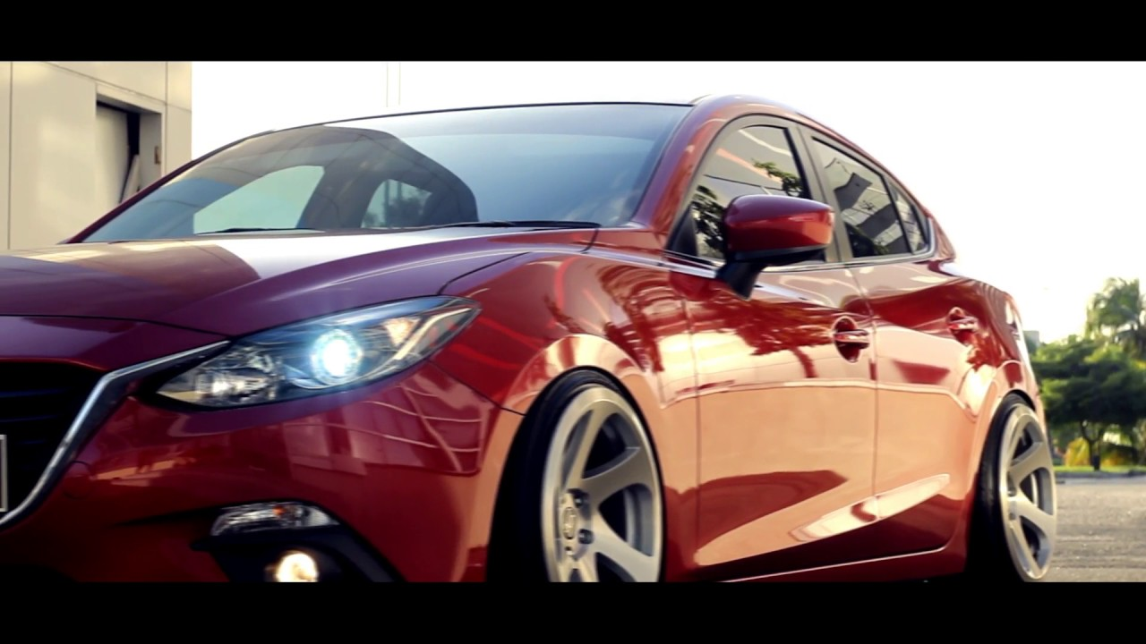 Slammed Mazda 3 Hatch Aspekt Youtube