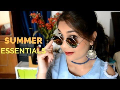 My Summer Essentials 2018   All Under Budget, Effective & Affordable   Nidhi Katiyar