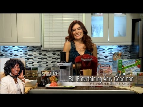 Fall Entertaining Amy Goodman
