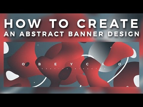 Photoshop Tutorial: Creating an Abstract Banner Design