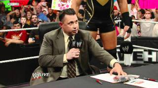 Jerry Lawler and Michael Cole's Over the Limit 2011 Contract Signing