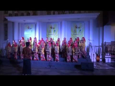 Festival Angklung Cashback AWI 2017 - Balebat ( Mojang Priangan )