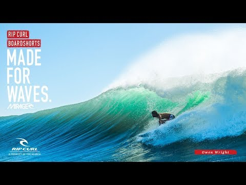 Owen Wright - Mirage Switch | Made For Waves | Boardshorts by Rip Curl
