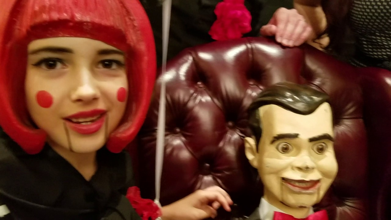 THE SCARY CLOSET GOOSEBUMPS 3 SLAPPY DOLL WITH JULIA BUTTERS
