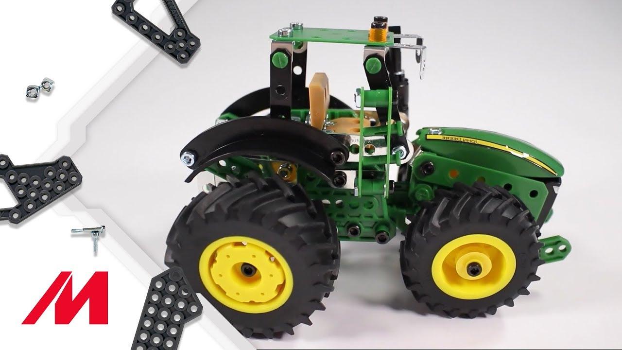 MECCANO John Deere Série 8R véhicule tracteur Construction Set