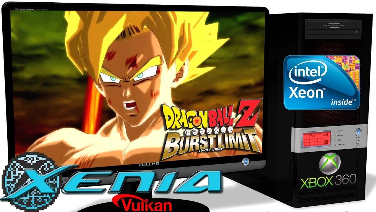 XENIA 1 06ML [Xbox 360] - Dragon Ball Z: Burst Limit