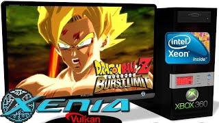 XENIA 1.06ML [Xbox 360] - Dragon Ball Z: Burst Limit [Gameplay] Vulkan api #1