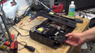 Magnavox CDB582 CD Player sticking drawer repair