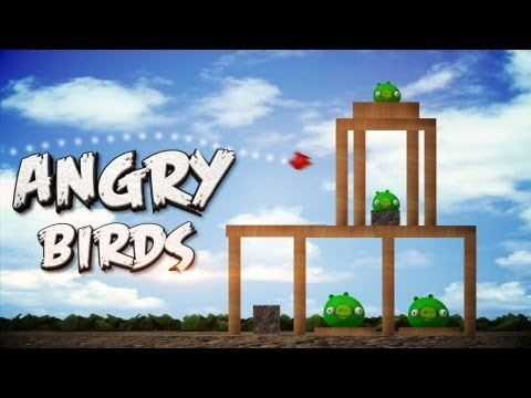 ANGRY BIRDS THE 3D GAME