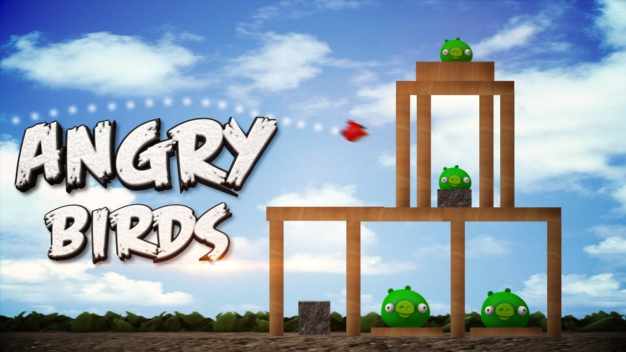 Angry birds the 3d game youtube angry birds the 3d game voltagebd Choice Image