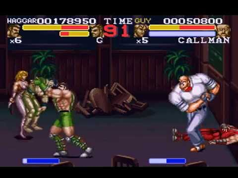 final fight 3 haggar stage 2 main street boss callman youtube. Black Bedroom Furniture Sets. Home Design Ideas