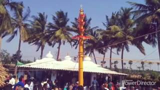 maddulaparava dwajasthambam prathista in sivalayam temple 05 06 2017