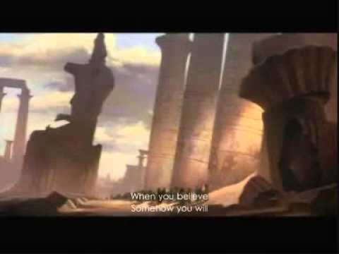 Prince of Egypt - When You Believe | w/ subtitles | Extended Version