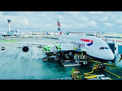 TRIP REPORT | British Airways | A380 Economy Class Experience | Los Angeles - London Heathrow |
