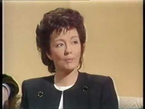 Christine Keeler talks SCANDAL with Sue Lawley on 'WOGAN' (BBC, 1989)