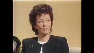 Christine Keeler talks SCANDAL with Sue Lawley on 'WOGAN' (BBC, 1989)