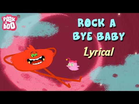 Rock A Bye Baby Lullaby With Lyrics | Classic Nursery Rhyme With Lyrics For Kids