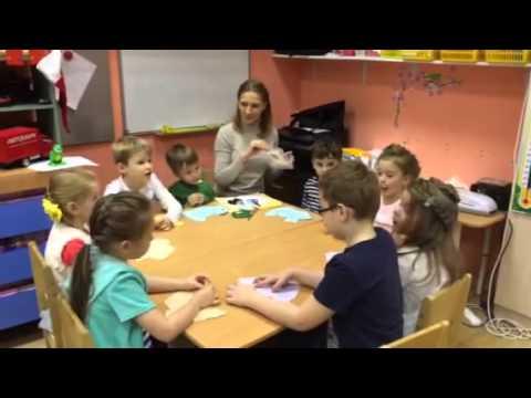 Аппликация в старшей группе детского сада Любимка