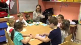 Аппликация в старшей группе детского сада