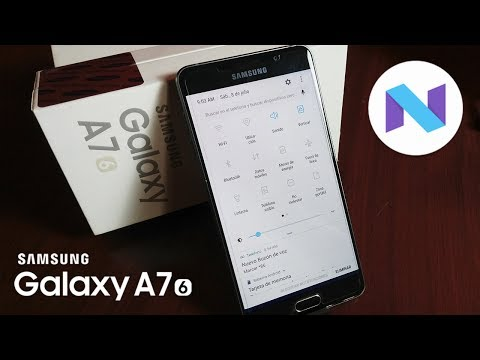Actualizar Samsung Galaxy A7 (2016) SM-A710M a android 7.0 Nougat Oficial