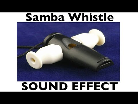 Samba Whistle Sample | SOUND EFECT | Loops | HD - YouTube