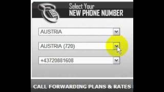 Austria Virtual Phone Number for international call forwarding.