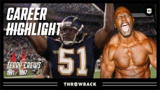 "Terry Crews Career Highlights ""AAAAAAHHH!!!!"" | NFL Legends"