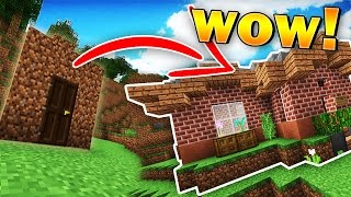 Minecraft | LEARNING TO BUILD w/ Grian