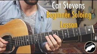 Beginner Guitar Soloing Lesson -