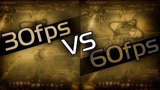 30fps vs 60fps - Youtube Test - Misc. Gameplay