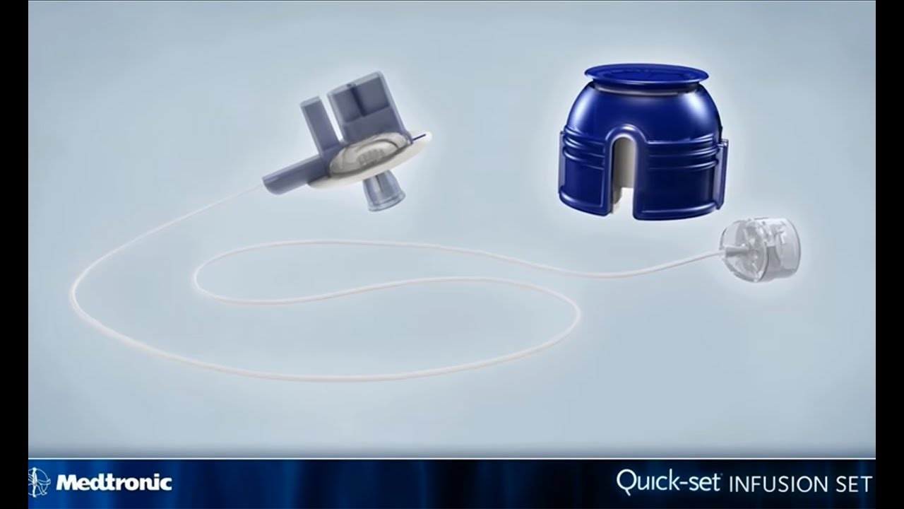 Medtronic Quick-set Infusion Set - How to Guide - YouTube