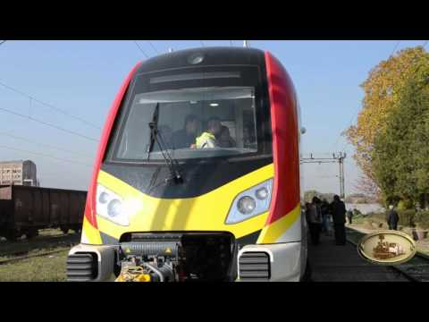 Тhe first test drive of МZ EMU 411 produce by China's CRRC