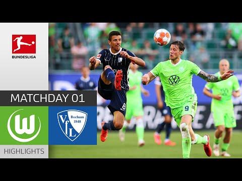 Wolfsburg Bochum Goals And Highlights