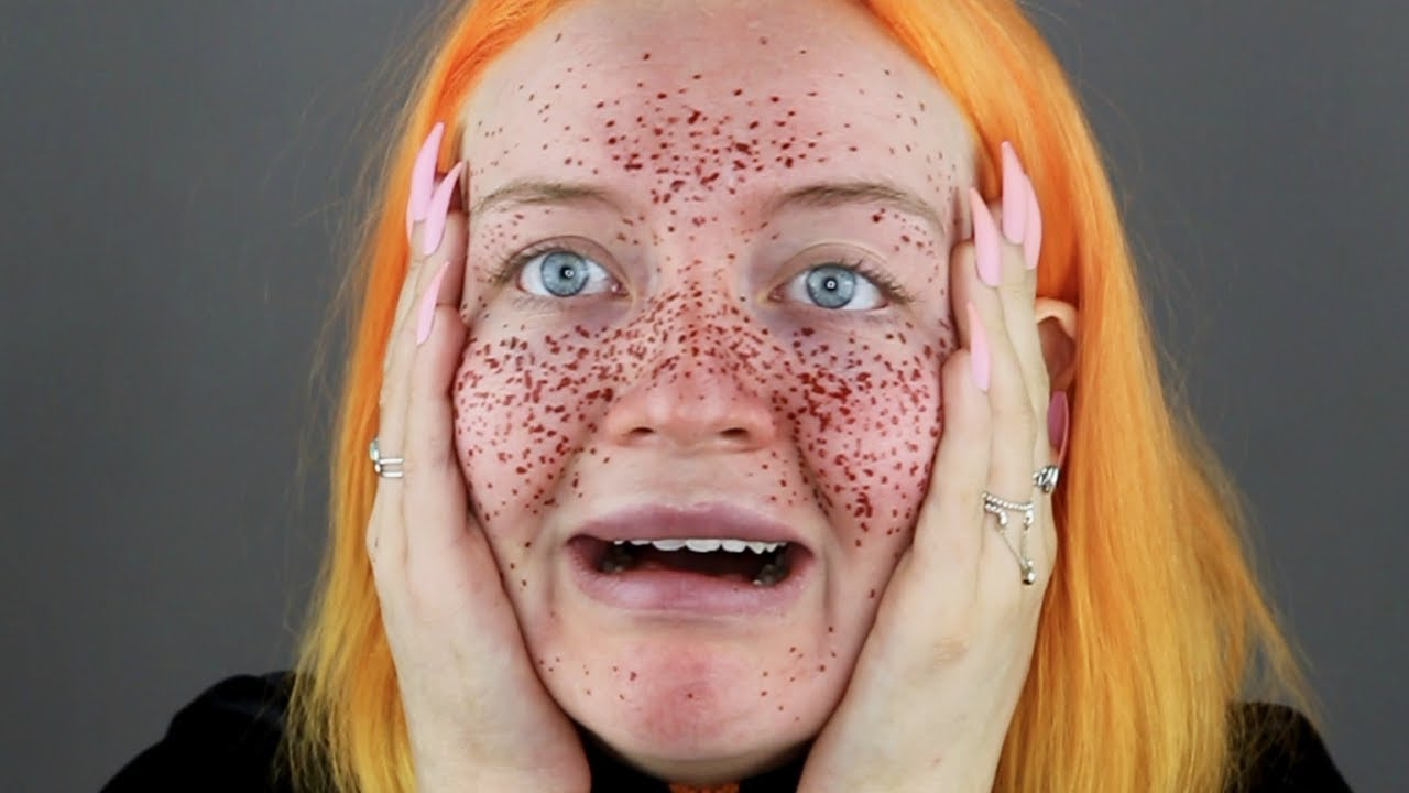 I Tried Giving Myself Semi Permanent Freckles And Now I