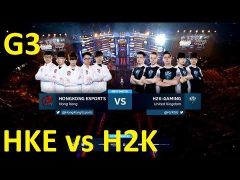 HKE vs H2K Game 3 Highlights - HONG KONG ESPORTS vs. H2K - Group A - IEM Katowice 2017